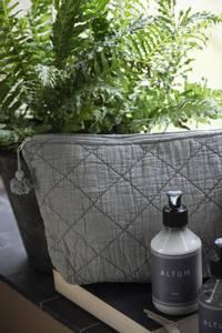 Bilde av Toalettmappe quiltet, green mist